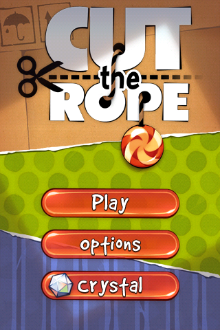 iPhone games - Cut the Rope