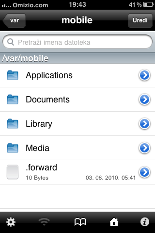 iFile app