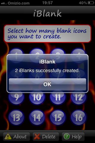 iBlank