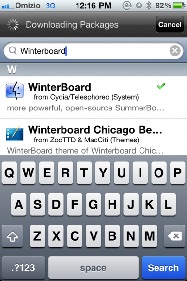 WinterBoard Search