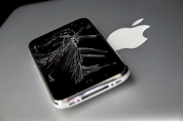 shatter iphone