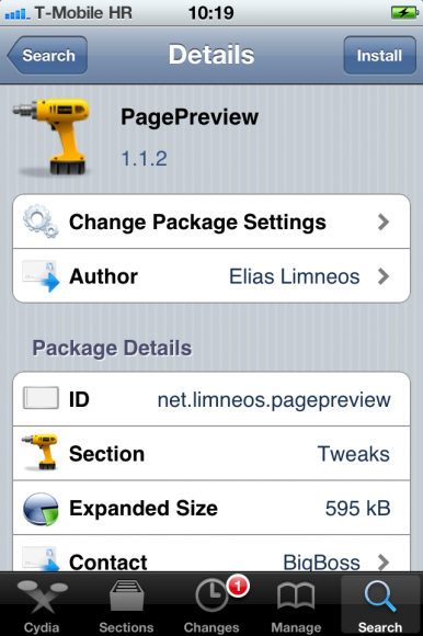 PagePreview must have Cydia app
