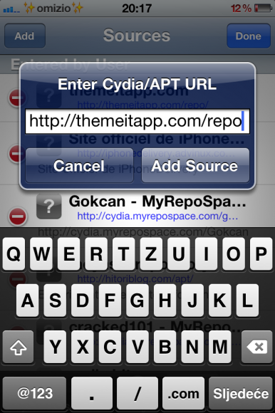 Theme it Cydia app