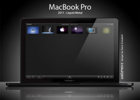 2011 MacBook Pro mockup by designer Dario Crisafulli.
