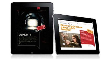 Pokret O prvi hr ipad magazin