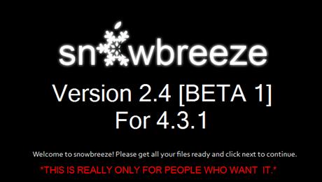 snowbreeze-2.4-beta-1