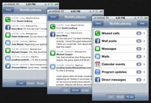 Notifications App