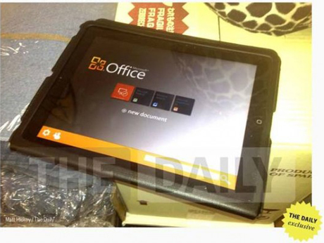MS office na iPad-u
