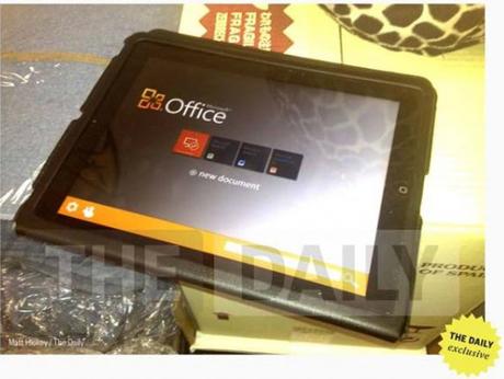 MS office na iPad-u