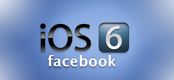 Facebook ios6 int.