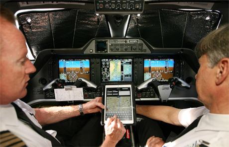 iPad Airplane use