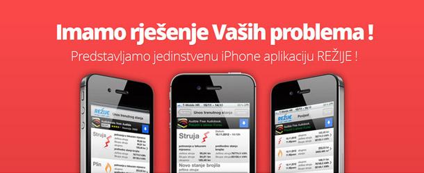 Režije iPhone App