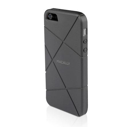 Macally-Flexible-case-za-iPhone-5---Crno