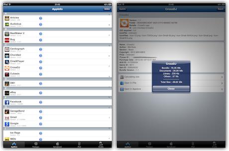 AppInfo Screenshot 1