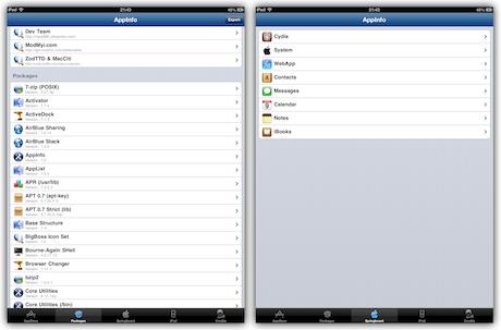 AppInfo Screenshot 2