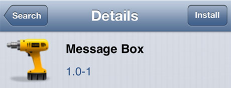 message-box-cydia