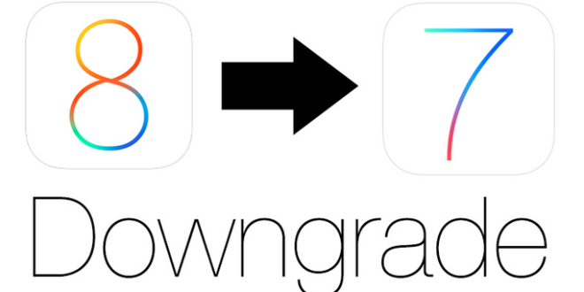 ios 8 downgrade