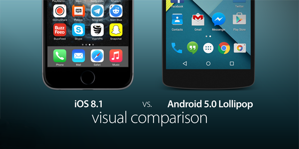 iOS-81-vs-Lollipop-comparison