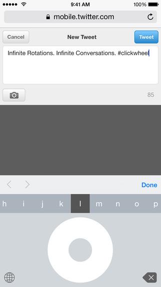 Click-Wheel-Keyboard