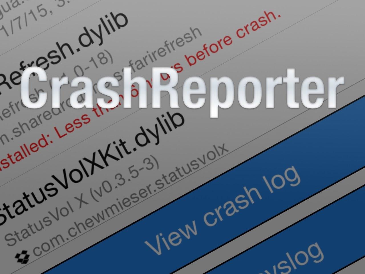 CrashReporter