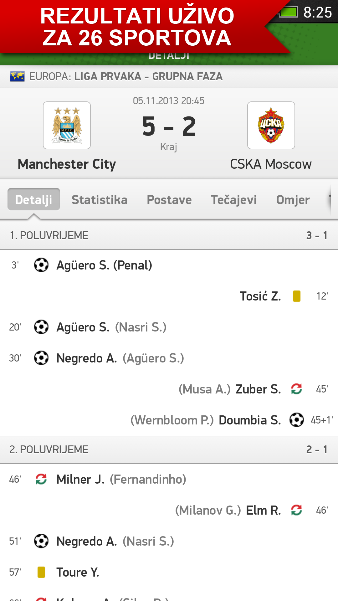 Soccer Rezultati Uzivo Fudbal