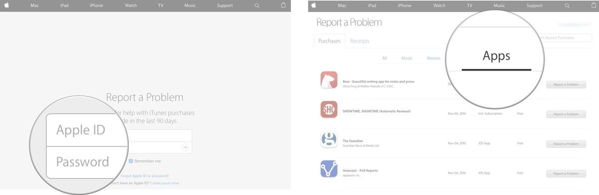 itunes-refund-report-website-mac-screenshot